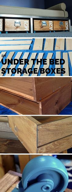 Check out the tutorial: #DIY Under the Bed Rolling Storage #crafts #homedecor
