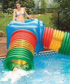 For the pool! Look what I found on #zulily! Deluxe Habitat Maze Play System Set by Swimline #zulilyfinds
