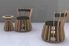 Garis Flat Pack Furniture by Robertus ( Roy ) Perdana at Coroflot.com Inspiration