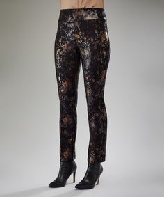 Another great find on #zulily! Copper Granite Straight-Leg Pants #zulilyfinds
