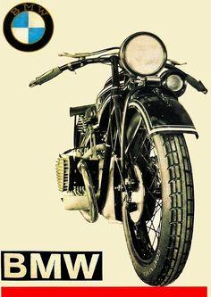 Moto obsession Motos Bmw, Bmw Motorcycles, Vintage Motorcycles, Bike Poster, Motorcycle Posters, Motorcycle Art, Vintage Bikes, Vintage Cars, Ford Gt