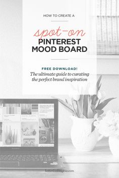 As a designer for over 20 years, I've honed my skills by observing, learning by replication, practice and listening to feedback. Use this same observation process and FREE WORKSHEET to help you create a spot-on Pinterest mood board.