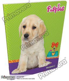 Cuaderno Grapado Puppies http://escolar.papelesprimavera.com/product/cuaderno-grapado-puppies-primavera/