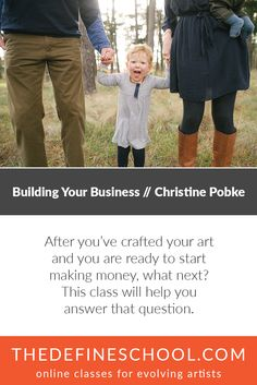Building Your Business | Christine Pobke | http://www.thedefineschool.com/learn/building-your-business/