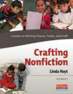 Nonfiction writing professional reading to help students.
