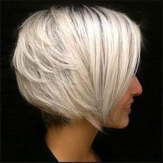 40 Banging Blonde Bob and Blonde Lob Hairstyles | Blonde bob ... | Einfache Frisuren