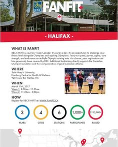 SAVE THE DATE: March 11 Registration is officially open for the @fanfitchallenge at @smuhalifax on March 11th. . If you've wanted to compete next to an Olympic athlete or an aspiring OIympian on a great workout? Now you can ... This is essentially your Team Canada tryout in a day  and its a ton of fun! . The RBC FANFIT Challenge is a unique opportunity to challenge yourself and compete alongside top level Canadian athletes in a multi-exercise challenge. FANFIT is designed to test your…