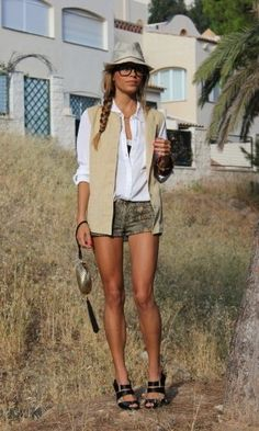 safari clothes for ladies
