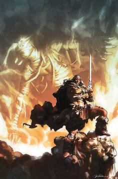New Conan the Barbarian 2014 | King Conan: The Hour of the Dragon