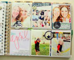 pocket page in the memory Planner Kim Jeffress for Heidi Swapp #heidiswapp #heidiswapphellotoday