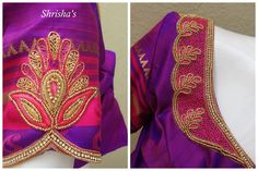 Purplicious..!!! BLOUSE CODE: B097 Kindly inbox/ email us for price details Call us/ Whatsapp/ Viber: 9894614882 Email: shrishas.sai@gmail.com Shipping worldwide Delivery within 5 working Days