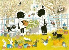 fiep westendorp - my favourite Dutch illustrator - ik hou van Jip en Janneke!