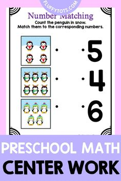 Penguins are a perfect addition to preschool activities in the winter! In this blog, I talk about some of the different preschool activities and resources that are penguin themed and great for practicing preschool motor skills, preschool math, preschool science and preschool writing. I also include suggestions for books about penguins that are great to pair with these activities. Great to use in the preschool classroom or for preschool homeschool activities. Preschool Activity Books, Preschool Writing, Preschool Science, Preschool Printables, Preschool Classroom, Preschool Activities, Number Recognition Activities, Lettering, Kindergarten Science