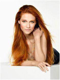 Nicole Fox for Cover Girl Nicole Fox, Remy Human Hair, Human Hair Wigs, Red Hair Woman, America's Next Top Model, Gorgeous Redhead, Ginger Hair, Green Hair, Model Photos