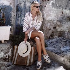 stripes head to toe http://liketk.it/2osT3 @liketoknow.it #liketkit  #hgtravel ph @johnhillin