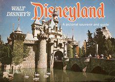 Disneyland Souvenir Brochure 1971
