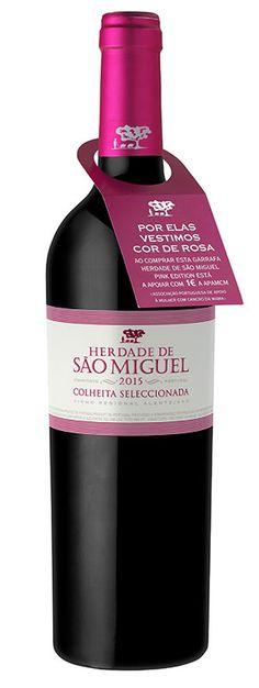 Vinho Herdade São Miguel veste-se de cor-de-rosa para o Dia da Mãe | ShoppingSpirit