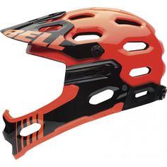Super 2R Mountain Bike Helmet - Bell Helmets - Removable Chin Guard