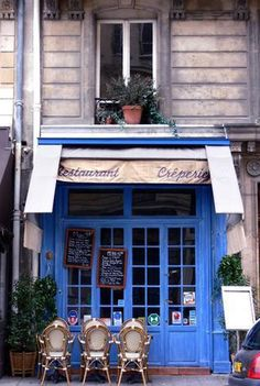 Cute creperie in France. Brought to you by Shoplet.com - everything for your business.