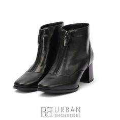 Botine dama din piele naturala - 0154-1 Negru Box Booty, Shoes, Fashion, Moda, Swag, Zapatos, Shoes Outlet, Fashion Styles, Shoe
