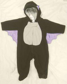 Baby Halloween Costume Bat Carters 3 Months Boy Girl Unisex Warm #JustOneYoubyCarters #CompleteCostume