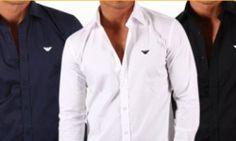 FANTASTICA PROMO! Camicie Armani in 3 colori e scelta taglie offerte a soli 46.90 euro + SPEDIZIONE GRATIS!