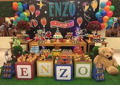 Festa Brinquedos Vintage muito linda por @lavillekids ❤️ #kikidsparty