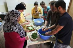 NOOR Women Empowerment Group Cooking Together, in Countlan Magazine Issue 06