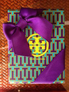 the best things come in tory burch boxes