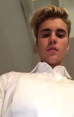 when u open up to the front camera but then you remember you're  Justin Bieber and still look flawless