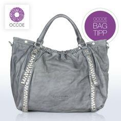 ♥♥♥ NEU bei OCCOE – die Liebeskind Berlin Tasche Denise 2 im eleganten 3D-Leder Look mit coolen Nieten ♥♥♥