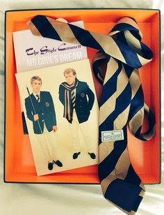 The Style Council - Cost of Loving promotional box. Very nice Kent & Curwen tie.https://twitter.com/MRCOOLSDREAM