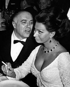 Loren con Carlo Ponti