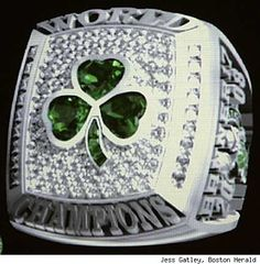 Celtics championship ring