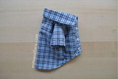 Padrões de costura da camisa do cão