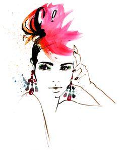 Amelie Hegardt watercolor illustration