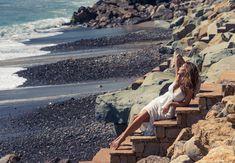Dress, Melissa Odabash. Cindy Crawford for The Coveteur