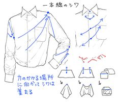 Marvelous Learn To Draw Manga Ideas. Exquisite Learn To Draw Manga Ideas. How To Draw Shirts, How To Draw Hair, Shirt Drawing, Manga Drawing, Art Reference Poses, Drawing Reference, Drawing Techniques, Drawing Tips, Sketches Tutorial