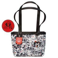 $134 I so want this :) Harveys Seatbelt Disney Mickey and Minnie In Love Medium Tote