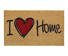 Felpudo Ruco Print I love home - 75x45 cm