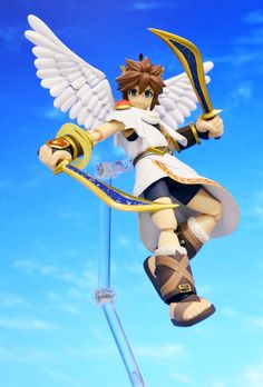First the Link action figure and now this one of Pit from Kid Icarus. Good lord, Figma, these are too much for this gamer to handle!