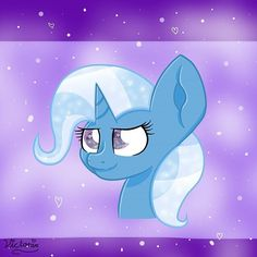 I'm kind of proud of this too BuT im on Tumblr nao so Crack-Ships-Galore Im extremely confused rn but :> #trixie #trixielulamoon #bestpony #myart (Ignore my name...watermark...thing..)