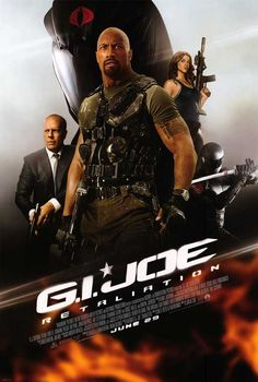 We are going to see it! Love Bruce Willis in action movies. The Rock the icing on the cake:) Great Movies, New Movies, Movies Online, Movies And Tv Shows, Gi Joe, Film D'action, Bon Film, Joe Movie, Movie Tv
