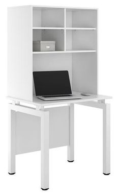 UCLIC Engage Desk + Open Upper Storage Perfect For A Studentu0027s Room (5  Colours Available