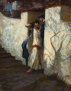 Harvey Thomas Dunn - Promise You Will Come, 1922