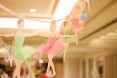 Sugar Plum Fairy Garland from a Nutcracker Inspired Birthday Party via Kara's Party Ideas | KarasPartyIdeas.com (17)