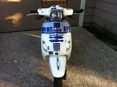 This R2-D2 Vespa Is Unfortunately Not For Sale