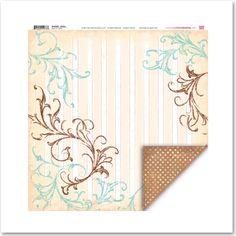 Heartfelt Janice double sided 12x12 paper by My Little Shoebox