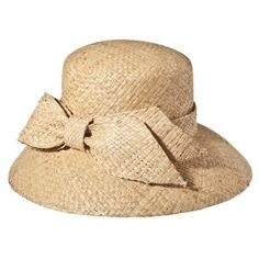Target Merona Planter Hat with Bow: can't decide if it's cute or if it'll look like I'm wearing a bucket on my head.