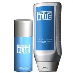 Individual Blue deo spray és tusfürdő szett
